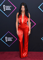 LOS ANGELES, CA. November 11, 2018: Scheana Shay at the E! People's Choice Awards 2018 at Barker Hangar, Santa Monica Airport.<br /> Picture: Paul Smith/Featureflash