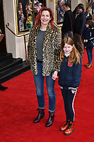 Lucy Montgomery attends press performance of Where Is Peter Rabbit? musical following the beloved character Peter Rabbit and his friends in a story based on Beatrix Potter's magical world, at Theatre Royal Haymarket<br /> CAP/JOR<br /> &copy;JOR/Capital Pictures