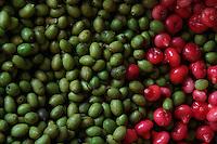 Colorful fruit, near Kandy, Sri lanka