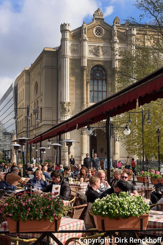Restaurant und Pester Redoute am Donaukorso, Dunakorzó, Budapest, Ungarn