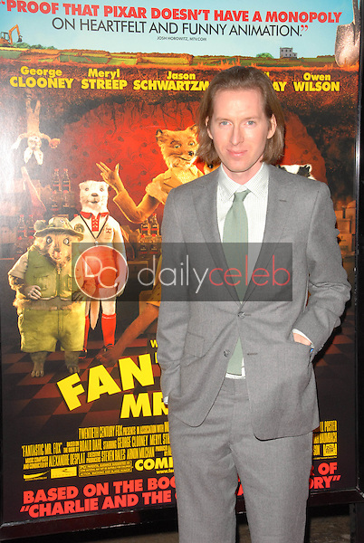 Wes Anderson<br />at the Los Angeles Screening of 'Fantastic Mr. Fox' for the opening night of AFI Fest 2009. Grauman's Chinese Theatre, Hollywood, CA. 10-30-09<br />Dave Edwards/DailyCeleb.com 818-249-4998