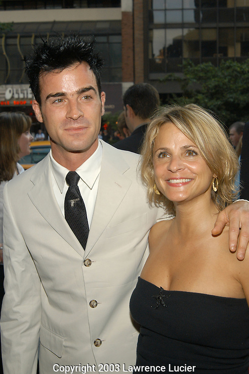 Justin Theroux and Amy Sedaris