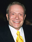 "Jerry Herman at the opening night of ""Oklahoma"" at the Gershwin Theatre in New York City on March 21, 2002."