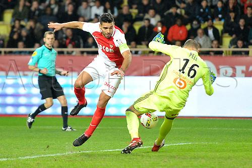 26.11.2016. Monaco, France. French League 1 football. Monaco versus Marseille.  RADAMEL FALCAO (asm)