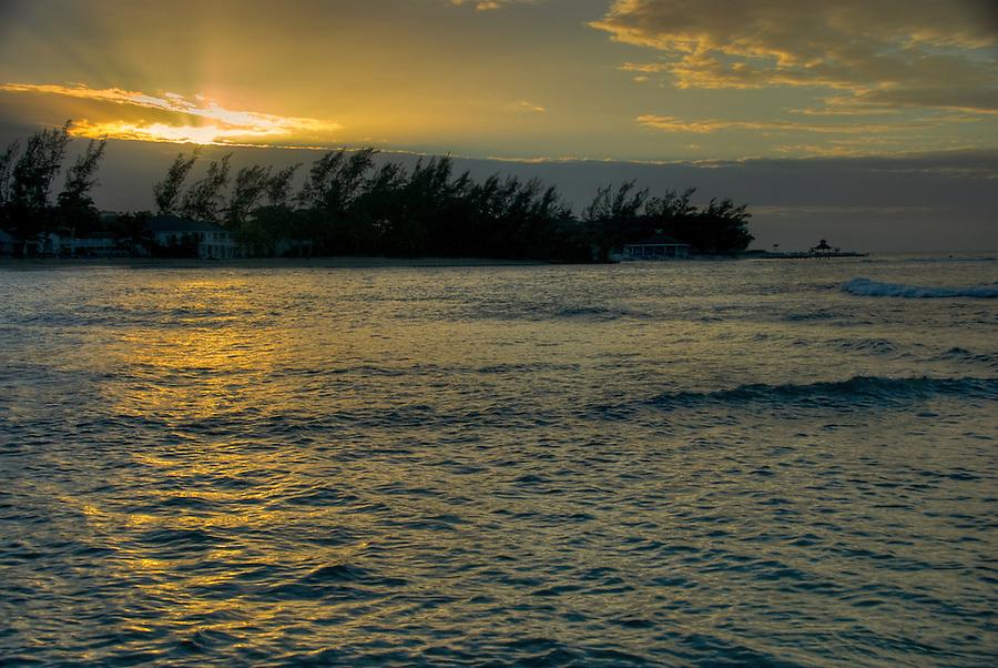 Sunset in Montego Bay, Rose Hall, Half Moon Resort