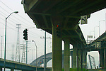 Seattle, West Seattle, West Seattle bridge, Southwest Spokane Street, concrete roadways, overpasses,