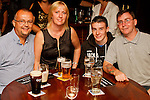 Ray Walsh, Samantha Walsh, Johnathan McCabe and Kevin Reynolds in McHughs for Aslan live..Picture: Shane Maguire / www.newsfile.ie.