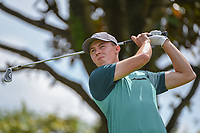 Matt Fitzpatrick (ENG) watches his tee shot on 2 during round 3 of the Arnold Palmer Invitational at Bay Hill Golf Club, Bay Hill, Florida. 3/9/2019.<br /> Picture: Golffile | Ken Murray<br /> <br /> <br /> All photo usage must carry mandatory copyright credit (&copy; Golffile | Ken Murray)