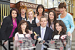 Billy O'Connor General manager of the River Island Hotel with some contestants and judges preparing for this years Rose of Cons pageant which will be held on 20th August in the River Island Hotel, Castleisland in aid of the Castleisland Resource Centre Front row Ma?ire Conroy, Billy O'Connor, Sarai Cotter. Back row: Claire Hartnett, Helen O'Donoghue, Cariosa Fleming, Liz Galwey, Aoife Brosnan and Babs Kelliher