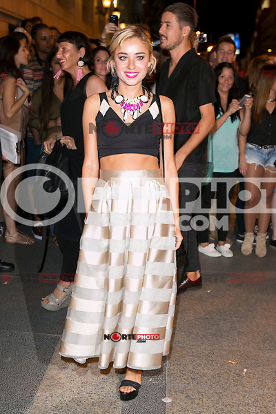 Miranda Makaroff attends the party of Nike and Roberto Tisci at the Casino in Madrid, Spain. September 15, 2014. (ALTERPHOTOS/Carlos Dafonte) /NortePhoto.com