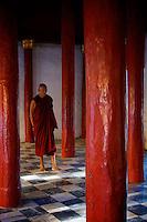 Bagan Shwezigon Pagoda, Myanmar, Burma.