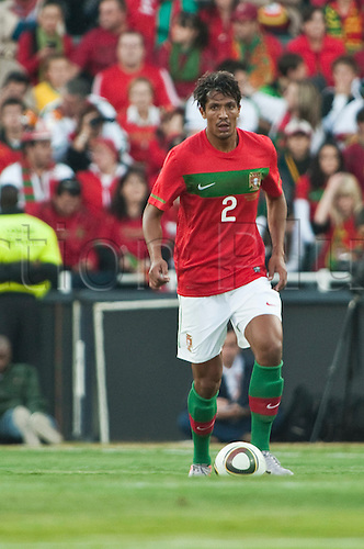 Bruno Alves (POR), JUNE 8, 2010 - Football : International Friendly match between Portugal 3-0 Mozambique at the Wanderers stadium in Johannesburg, South Africa.
