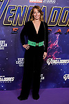 Monica Martin Luque attends to Avengers Endgame premiere at Capitol cinema in Madrid, Spain. April 23, 2019. (ALTERPHOTOS/A. Perez Meca)