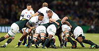 Nathan Hughes of England during the 2018 Castle Lager Incoming Series 2nd Test match between South Africa and England at the Toyota Stadium.Bloemfontein,South Africa. 16,06,2018 Photo by Steve Haag / stevehaagsports.com