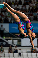 CHAVEZ MUNOZ Arantxa, HERNANDEZ TORRES Melany MEX<br /> Diving <br /> Women's 3m Synchro Springboard Preliminary<br /> Day 04 17/07/2017 <br /> XVII FINA World Championships Aquatics<br /> Duna Arena Budapest Hungary July 15th - 30th 2017 <br /> Photo @A.Masini/Deepbluemedia/Insidefoto