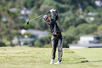 Munchin Keh.Jennian Homes Charles Tour Autex Muriwai Open, Muriwai Links Golf Course, Muriwai, Auckland, New Zealand,Thursday 12 April 2018. Photo: Simon Watts/www.bwmedia.co.nz