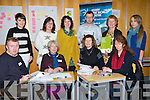 CLASSES: A Volunteer & development Workshop was held in The Solous Buildint on Saturday morning attending wereFront l-r: Ciaran Ryan, Ursula Walsh,Carmel Brosnan and Colette Leask. Back l-r: Sara Cervellon, Mary McGuillicuddy (KOWC) Roisin Boyle (Comhlamh),Liam Lynam,Margaret Roche and Anna Grimes.