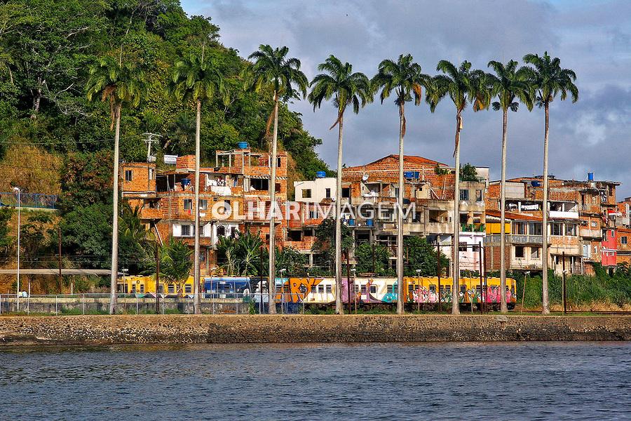 Transporte em trem da suburbana. Salvador. Bahia. 2019. Foto Euler Paixão