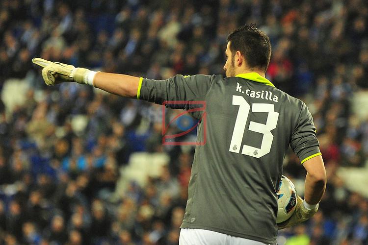 K. Casilla - RCD Espanyol vs R. Betis: 1-0.