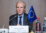 BRUSSELS - BELGIUM - 25 November 2016 -- European Training Foundation (ETF) Governing Board meeting. -- Michel Servoz, Director-General, DG Employment, Social Affairs and Inclusion, European Commission. -- PHOTO: Juha ROININEN / EUP-IMAGES