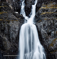 In the remote Westfjords region of Iceland is an absolute jewel of a place that features an amazing waterfall, a shipwreck, an abandoned Herring factory and a photography exhibition! A beautiful place in a gorgeous fjord, captured here by New Zealand's Wanaka-based landscape and fine art photographer Christopher David Thompson.