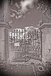 A graveyard entrance