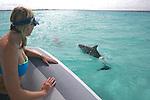 Melinda & Bottlenosed Dolphin