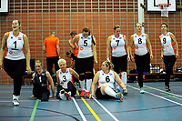 ASSEN - Volleybal, Internationaal zitvolleybal toernooi, Nederland - Rusland, 01-07-2017,  opkomst speelsters