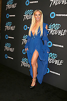 "LOS ANGELES - JAN 8:  Gigi Gorgeous at the ""Good Trouble"" Premiere Screening at the Palace Theater on January 8, 2019 in Los Angeles, CA"