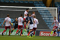 Stevenage Chris Whepdale clears from a corner during Millwall vs Stevenage, Caraboa Cup Football at The Den on 8th August 2017