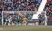 10th February 2019,  Estadio Municipal de Butarque, Leganes, Spain; La Liga football, Leganes versus Real Betis; Youssef En-Nesyri (CD Leganes)  scores to make it 1-0