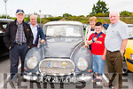 John O'Sullivan, Pat, Mary, Paul and Cian O'Sullivan at the Killarney Valley Classic and Vintage show on Sunday
