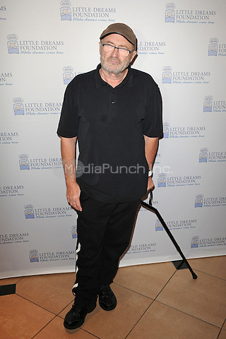 HOLLYWOOD FL - JUNE 11: Phil Collins attends The Little Dreams Foundation auditions at Paradise Live held at the Seminole Hard Rock Hotel & Casino on June 11, 2016 in Hollywood, Florida. Credit: mpi04/MediaPunch
