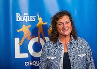 LAS VEGAS, NV - July 14, 2016: Dot Jones pictured arriving at The Beatles LOVE by Cirque Du Soleil at The Mirage Resort in Las vegas, NV on July 14, 2016. Credit: Erik Kabik Photography/ MediaPunch