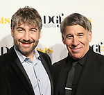 Scott Schwartz and Stephen Schwartz attends the Dramatists Guild Foundation toast to Stephen Schwartz with a 70th Birthday Celebration Concert at The Hudson Theatre on April 23, 2018 in New York City.