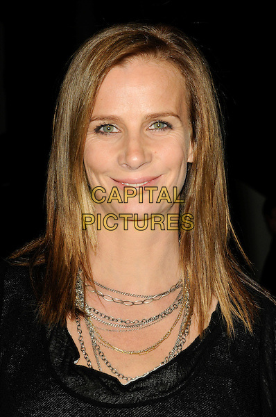 RACHEL GRIFFITHS .The Art Los Angeles Contemporary Art Fair at Pacific Design Center on January 28, 2010 in West Hollywood, California, USA..January 28th, 2010.headshot portrait black silver gold chain necklaces .CAP/ROT.©Lee Roth/Capital Pictures