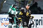 Stockholm 2014-03-21 Ishockey Kvalserien AIK - R&ouml;gle BK :  <br /> AIK:s Derek Joslin deppar efter R&ouml;gles Jakob Johansson gjort 1-0<br /> (Foto: Kenta J&ouml;nsson) Nyckelord:  depp besviken besvikelse sorg ledsen deppig nedst&auml;md uppgiven sad disappointment disappointed dejected