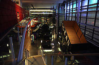 Interior view of the National Waterfront Museum in Swansea, Wales, UK. 23 November 2017