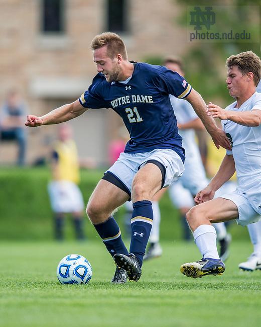 Sept. 6, 2014; Men's Soccer (Photo by Matt Cashore/University of Notre Dame)