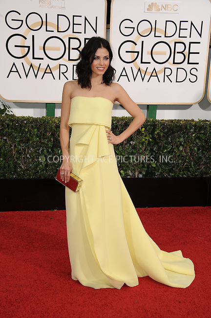 WWW.ACEPIXS.COM<br /> <br /> January 11 2015, LA<br /> <br /> Jenna Dewan Tatum arriving at the 72nd Annual Golden Globe Awards at The Beverly Hilton Hotel on January 11, 2015 in Beverly Hills, California. <br /> <br /> <br /> By Line: Peter West/ACE Pictures<br /> <br /> <br /> ACE Pictures, Inc.<br /> tel: 646 769 0430<br /> Email: info@acepixs.com<br /> www.acepixs.com