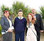 Teresa, Jacob, Cornelie and Kamil Jankowska during confirmation for Donacarney School at Mornington Church on Thursday 21st May 2015.<br /> Picture:  Thos Caffrey / www.newsfile.ie