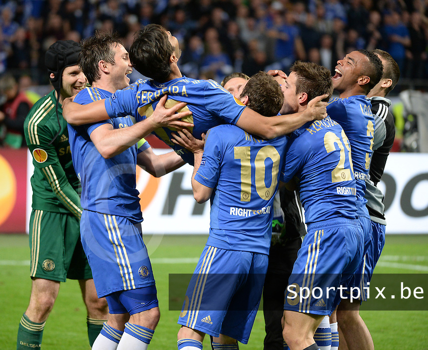 Benfica Lissabon - Chelsea FC : Cesar Azpilicueta.foto DAVID CATRY / Nikonpro.be