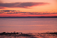 Backshore Sunset, Castine, Maine, US