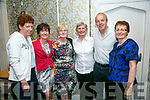 Enjoying the Sweets of May Dancing at the Earl of Desmond on Friday were Geraldine Sharkey, Bernie O'Loughlin, Kathleen McCarthy, Bridie Keane, Maurice O'Donnell and Bridget O'Donnell