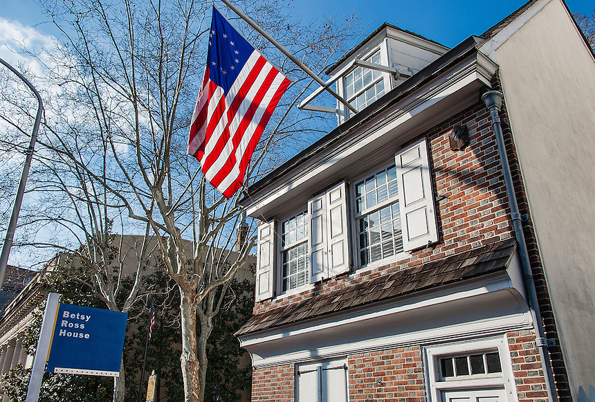 Betsy Ross house, Philadelphia, Pennsylvania, USA