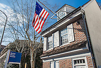 Betsy Ross house, Philadelphia, Pennsylvania, USA