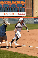 SAN ANTONIO, TX - MARCH 9, 2019: The University of Texas at San Antonio Roadrunners sweep the double header 7-0 and 7-5 versus the University of Alabama at Birmingham Blazers at UTSA Roadrunner Field. (Photo by Jeff Huehn)