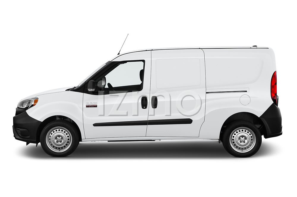Car Driver side profile view of a 2019 Ram Promaster-City Tradesman 5 Door Car Van Side View