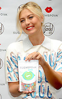 "Maria Sharapova launches her new candy line "" Sharapova "" - New York"