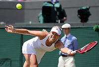 ANGELIQUE KERBER (GER) <br /> <br /> The Championships Wimbledon 2014 - The All England Lawn Tennis Club -  London - UK -  ATP - ITF - WTA-2014  - Grand Slam - Great Britain -  2nd.July 2014<br /> <br /> <br /> © J.Hasenkopf / Tennis Photo Network